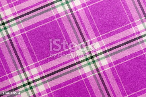 Purple, black and white tablecloth background