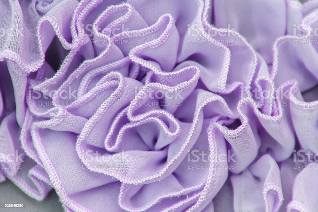 fabric texture with frills, pleated fabric pattern, seamless tex stock photo