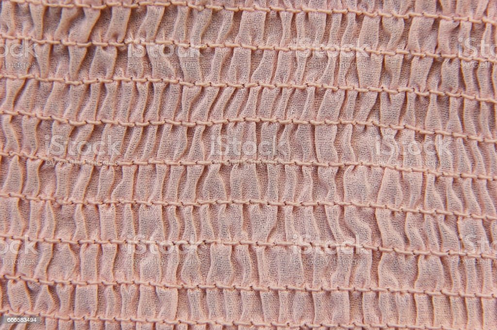 fabric texture with frills, pleated fabric pattern, seamless texture for background and stock photo