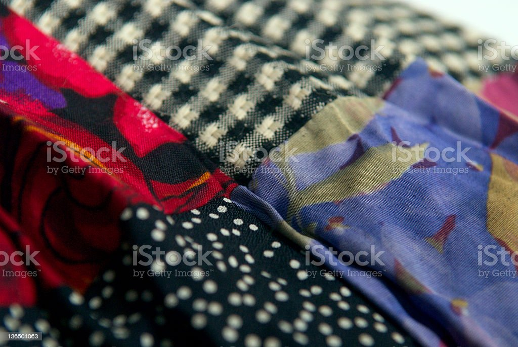 Fabric Two royalty-free stock photo