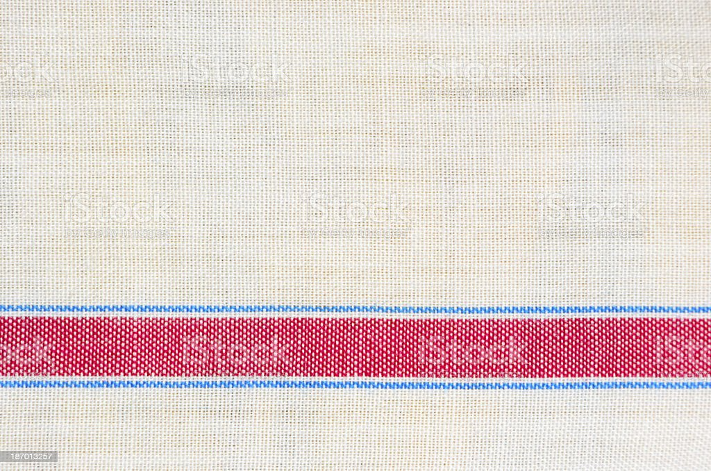 Fabric with a Stripe royalty-free stock photo