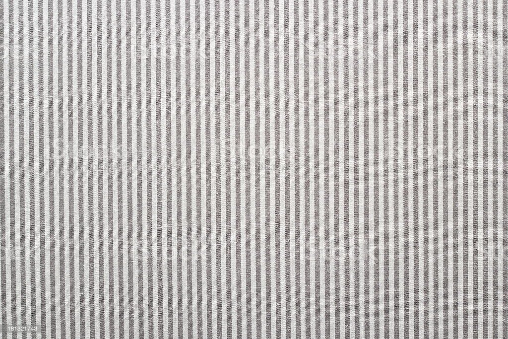 fabric with gray and white stripes royalty-free stock photo