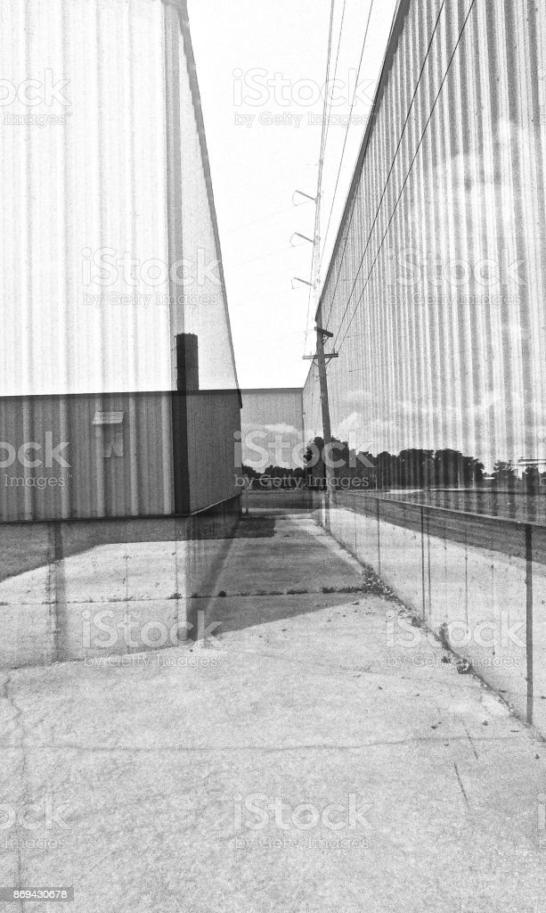 Fabricated Walls royalty-free stock photo