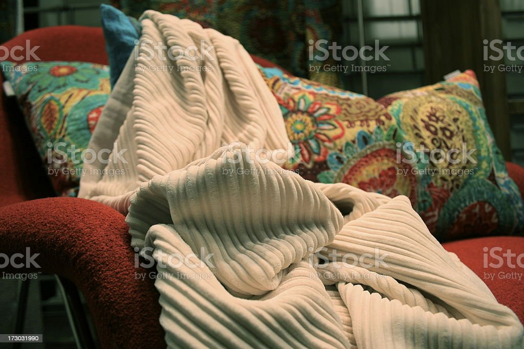 fabrics royalty-free stock photo