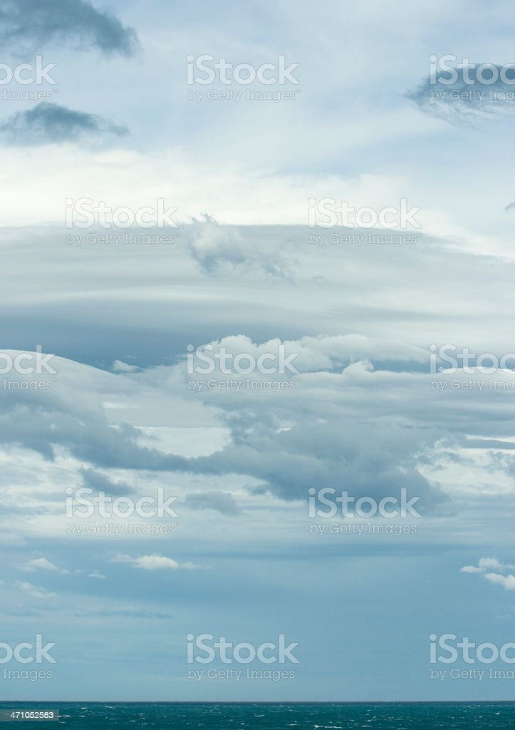 Fabulous Cloudscape royalty-free stock photo