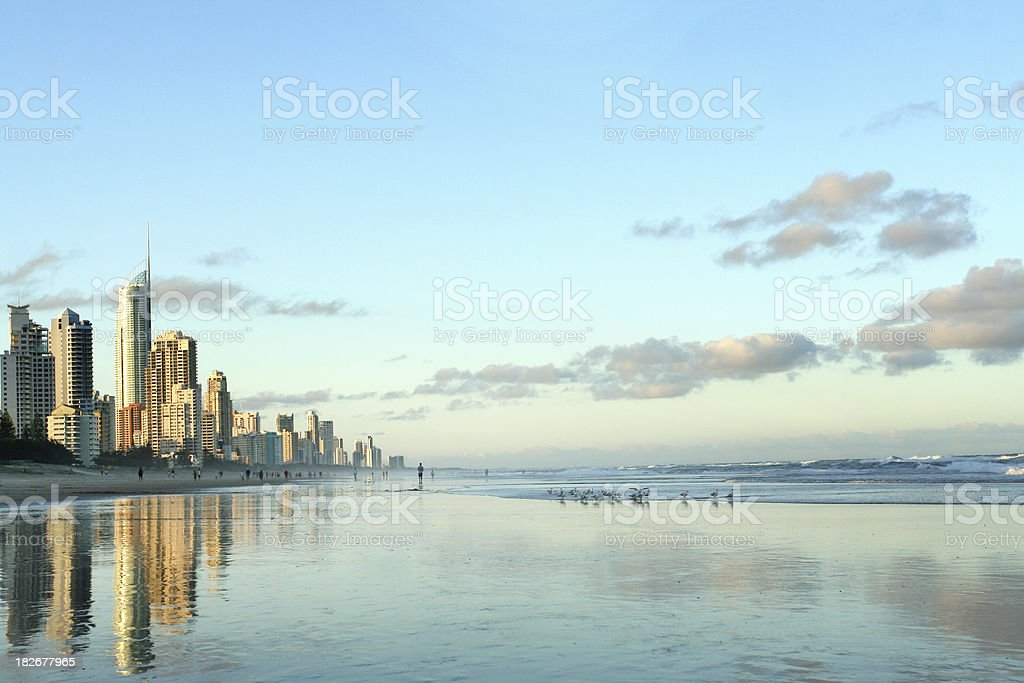 Fabulous Gold Coast stock photo