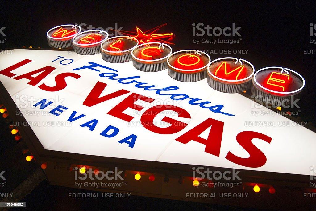 Fabulous Las Vegas royalty-free stock photo