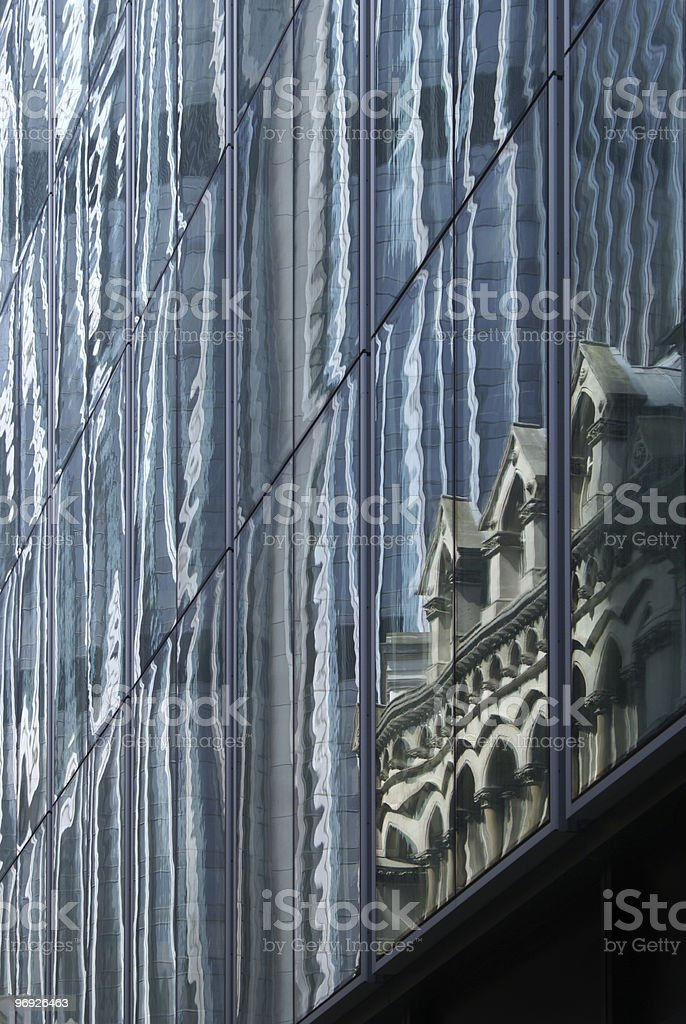Facade as the mirror royalty-free stock photo