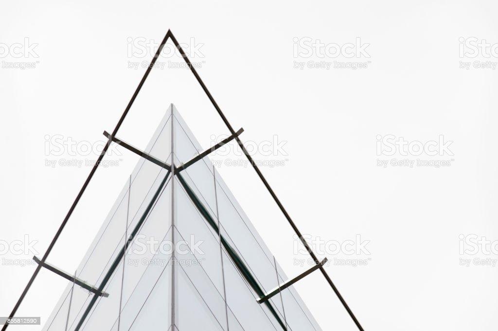fachada, vidro e alumínio - foto de acervo