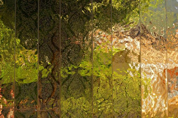 Fassade-Spiegel-Struktur – Foto