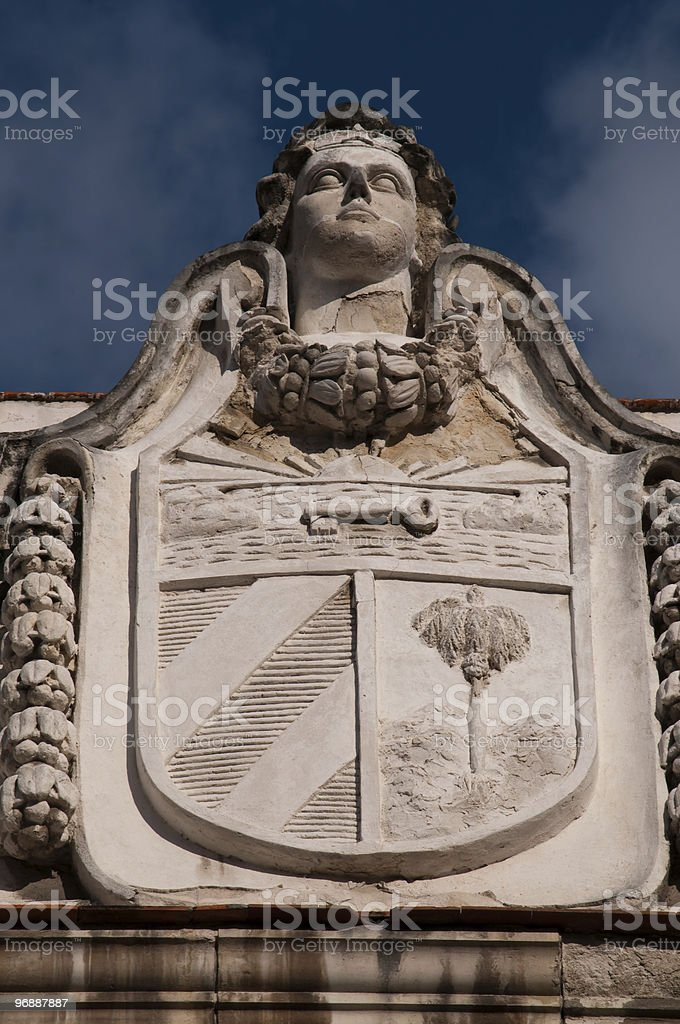 Fassade Museum der Revolution, Havanna, Kuba Lizenzfreies stock-foto