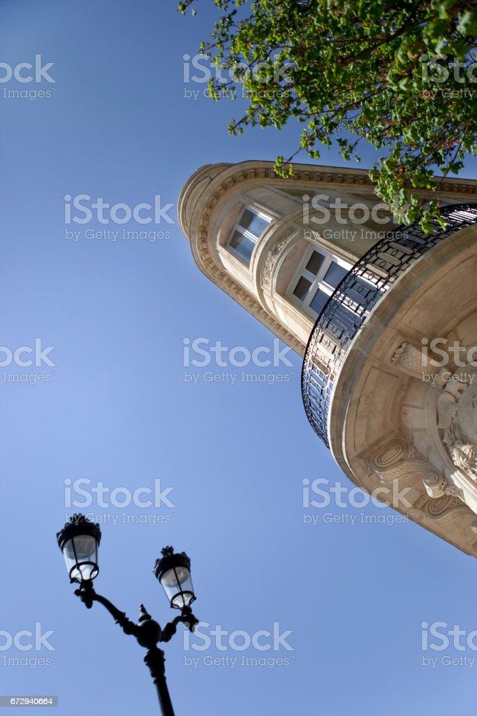 Facade of a French building - Photo
