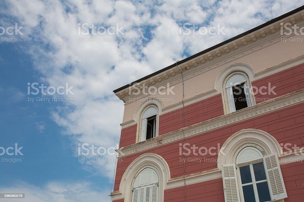 Facade of a house royalty-free stock photo