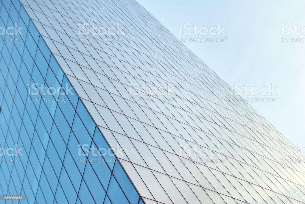 Fassade des modernen Bürogebäude Lizenzfreies stock-foto