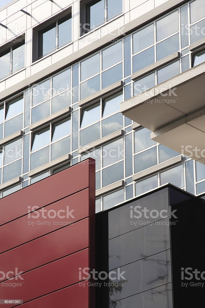 Facade of a office building in Koln (Germany) stock photo