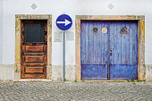 istock facade of abandoned building 968094430