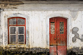 istock facade of abandoned building 968094624