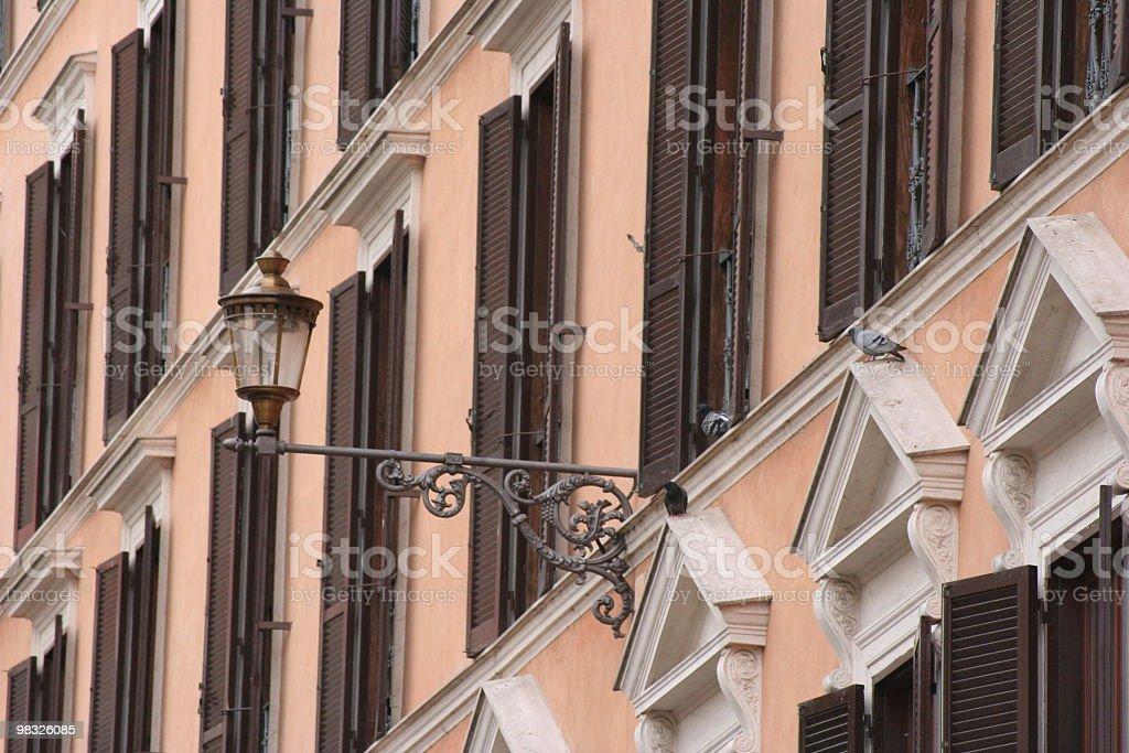 Facade of building royalty-free stock photo