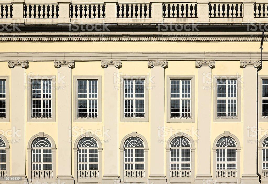 正面玄関の Fridericianum ロイヤリティフリーストックフォト