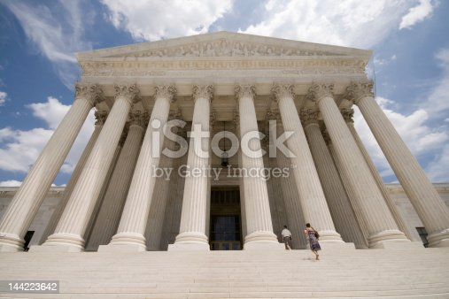 Facade of Supreme Court.   - See lightbox for more