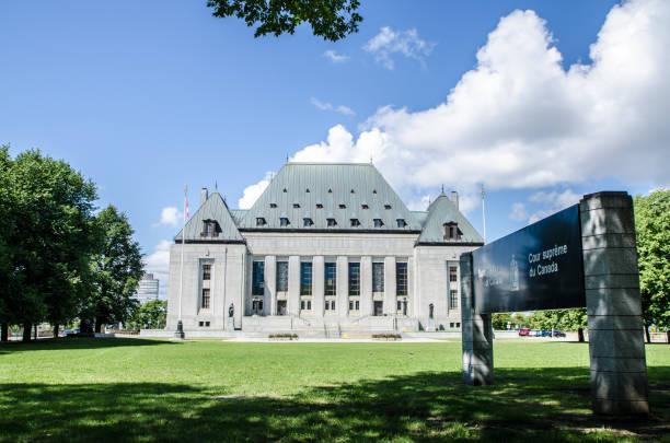 Facade of Supreme Court of Canada