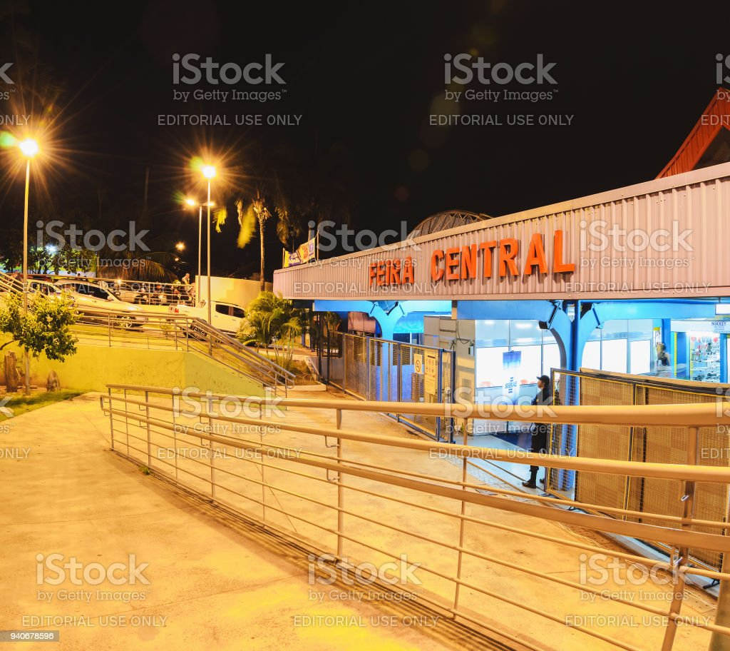 Facade Of The Feira Central De Campo Grande Stock Photo   More ... 3c2f90baec04c