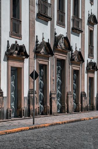 Facade of the Madre de Deus Church