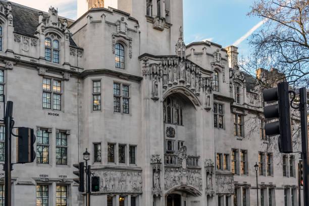 英國最高法院之家, 密閣會館的門面 - supreme court 個照片及圖片檔