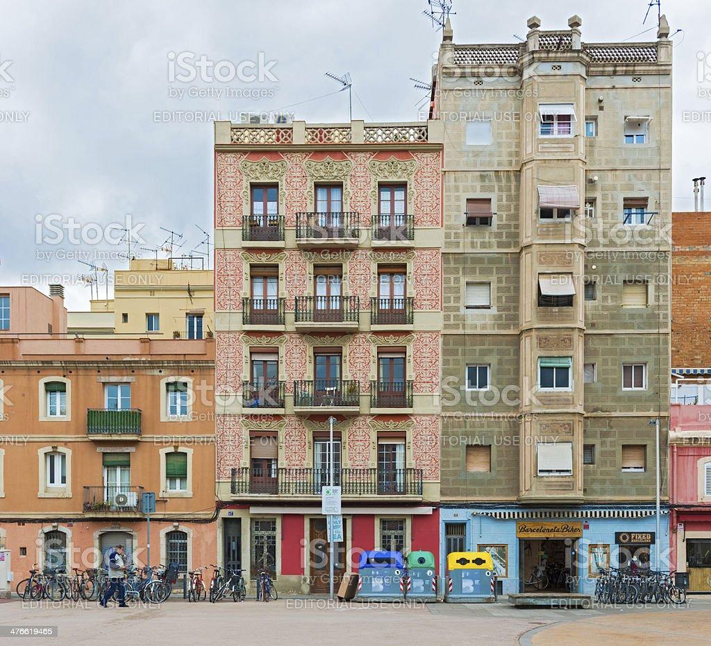 Foto De Fachada De Casas Antigas Em Barcelona Espanha E Mais Fotos De Stock De Barcelona Espanha Istock
