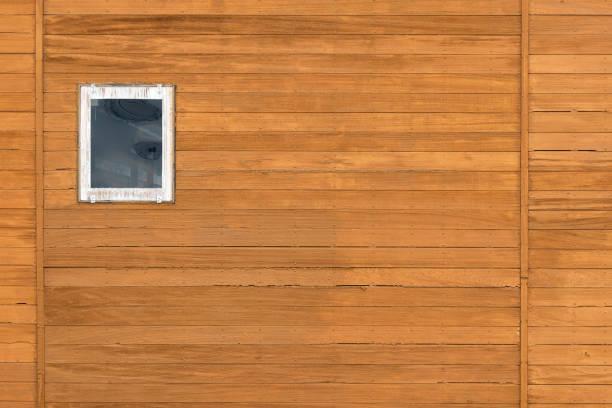 Fassade der Holzwand – Foto