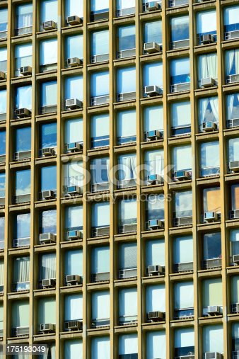 istock NYC facade with the classic air conditions 175193049