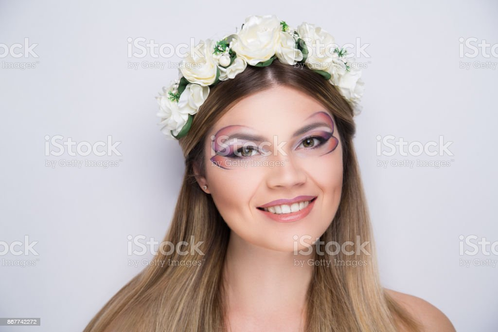 face art concept stock photo