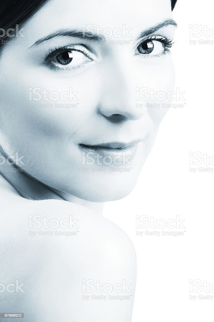 Face beauty royalty-free stock photo