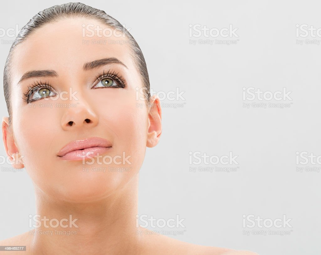 Face care and beauty stock photo