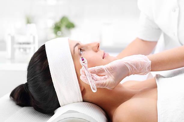 Face lifts, mesotherapy. – Foto