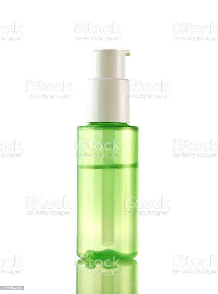Face lotion royalty-free stock photo