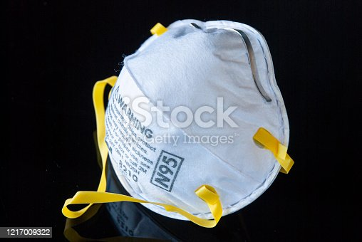 Personal Protective Equipment (PPE) N95 face mask