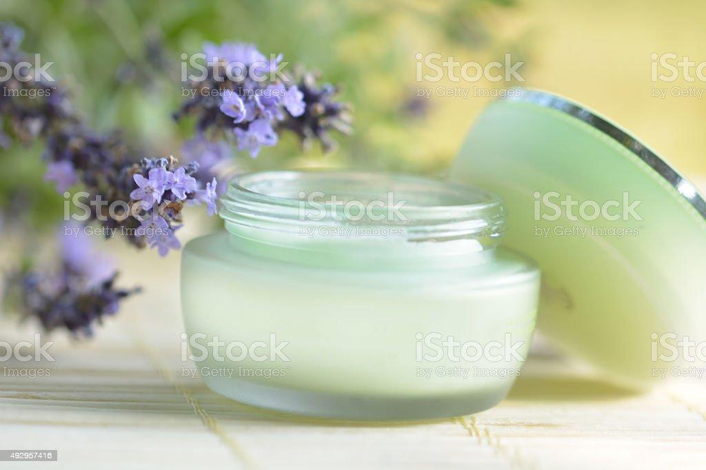 Face moisturizer royalty-free stock photo