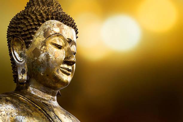 face of buddha - buddha stockfoto's en -beelden