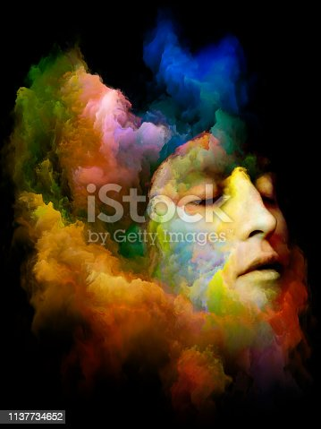 860245894 istock photo Face of Colors. 1137734652