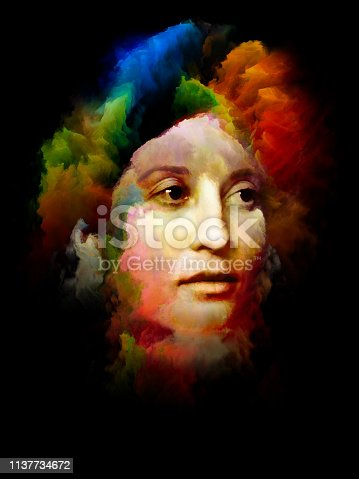 860245894 istock photo Face of Colors. 1137734672