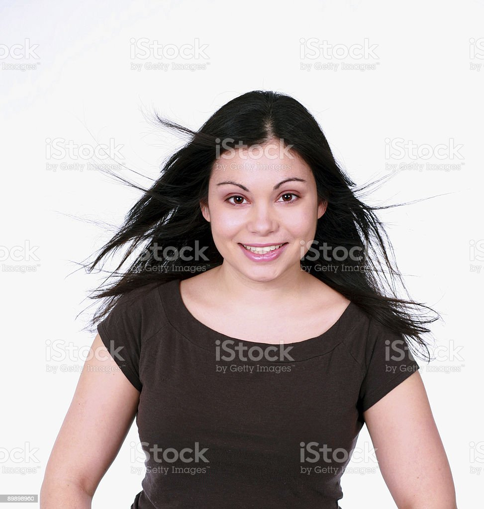 Face of Madonna royalty-free stock photo