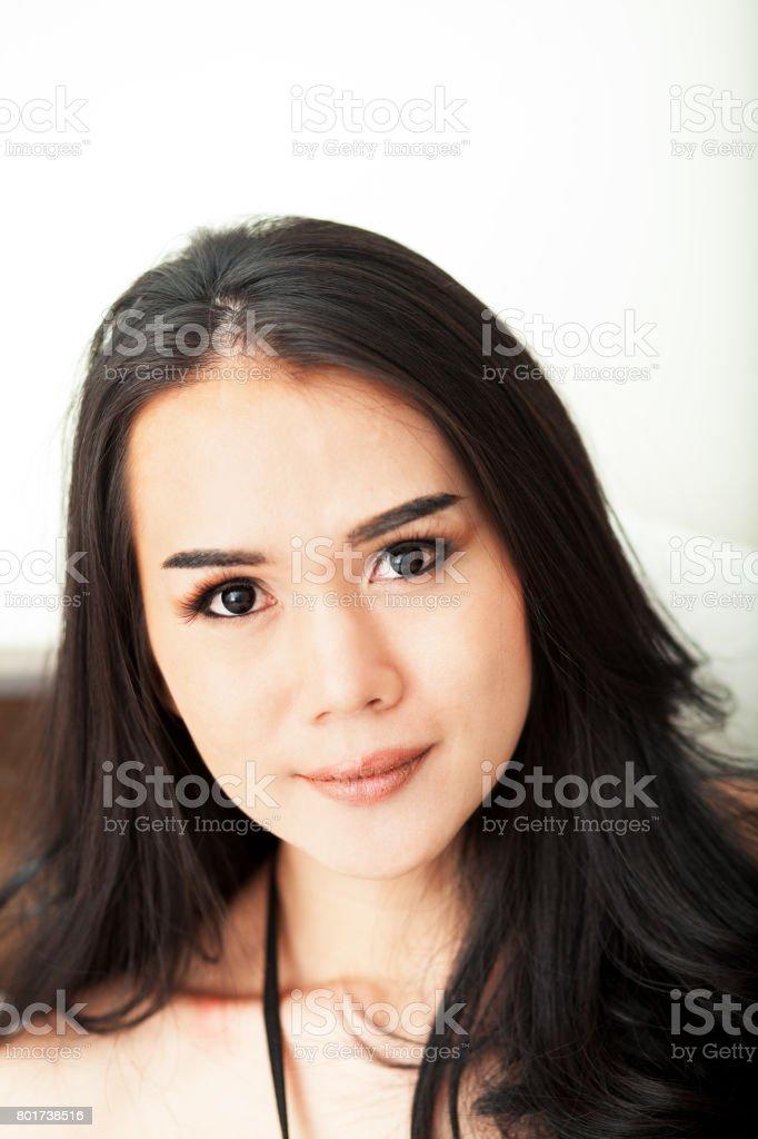 Fotografía de Cara De Transexual Tailandesa y más banco de imágenes ...