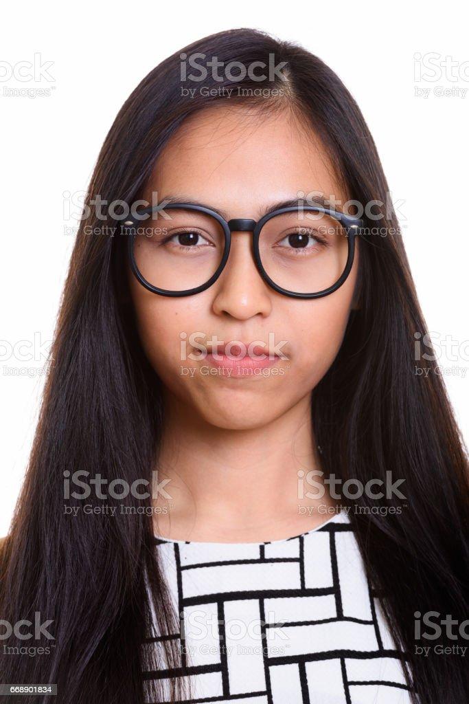 Nerd Teen Mädchen Brillen