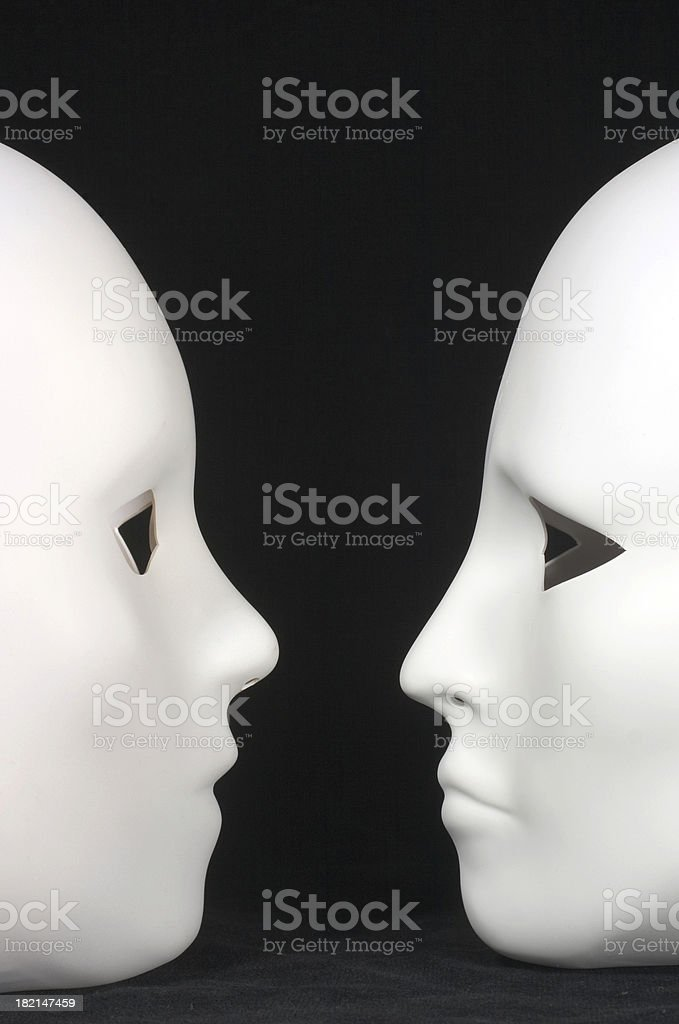 face off 2 royalty-free stock photo