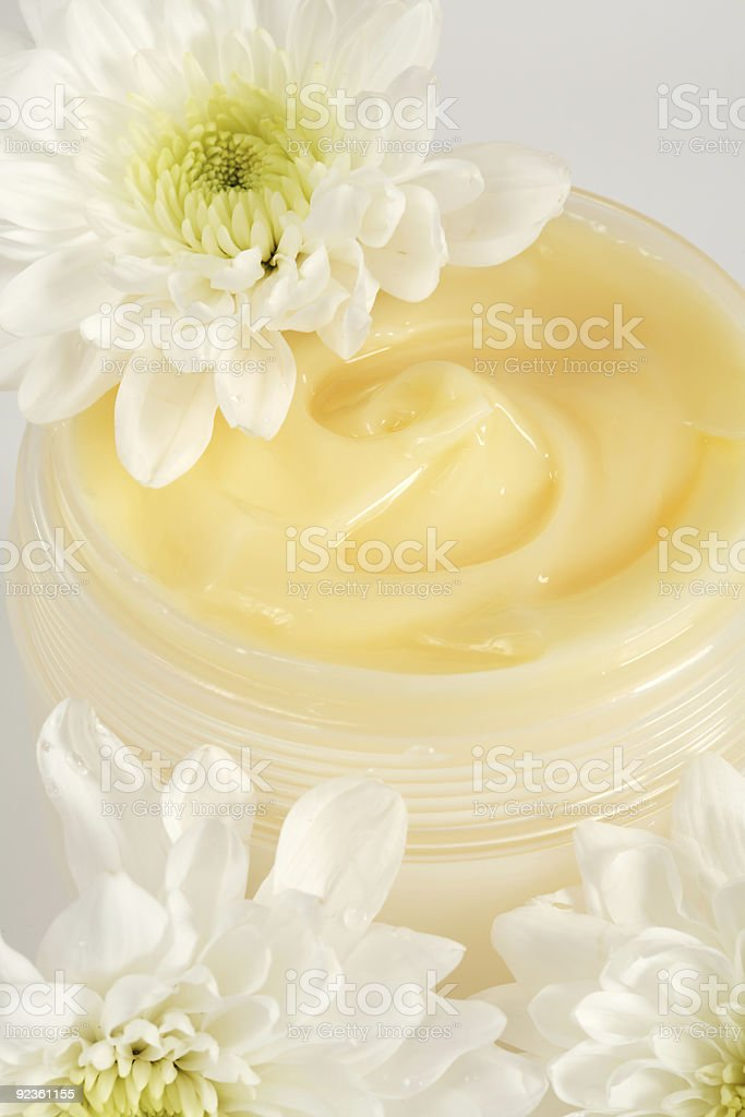 Face or body cream royalty-free stock photo