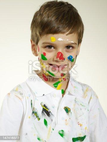istock Face Paint 147418372