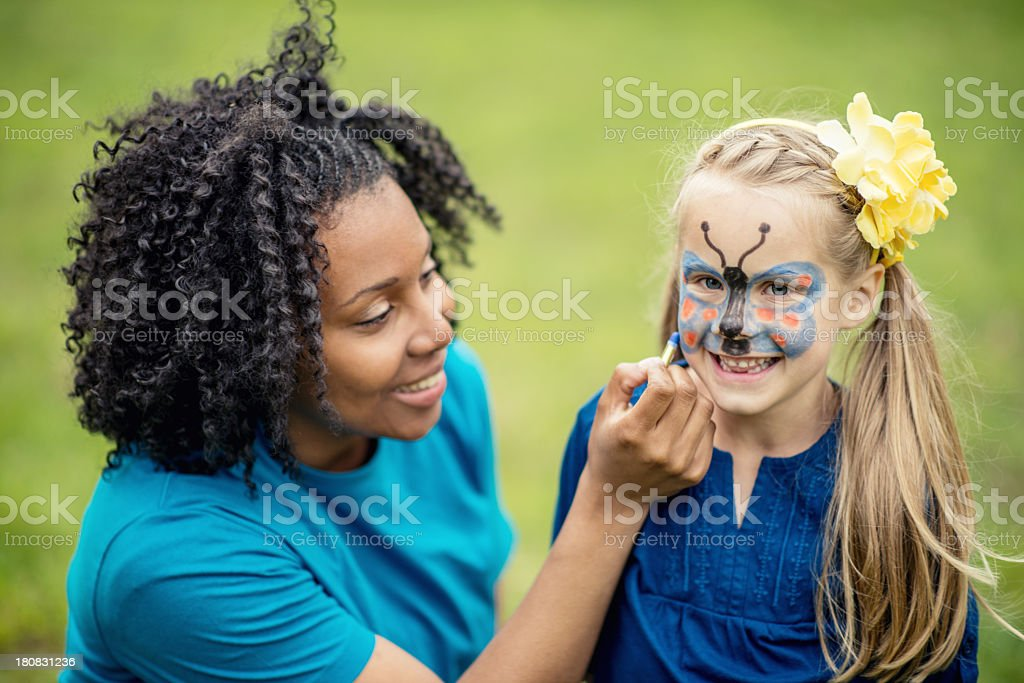 Face Paint stock photo