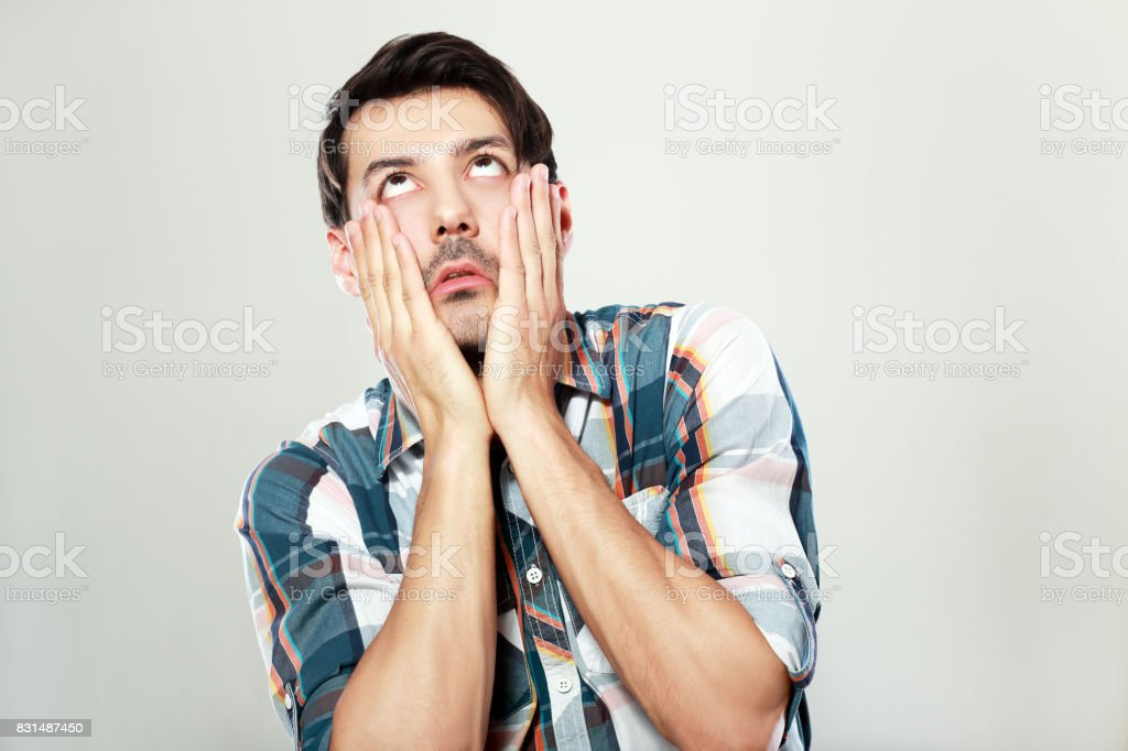 face palm stock photo