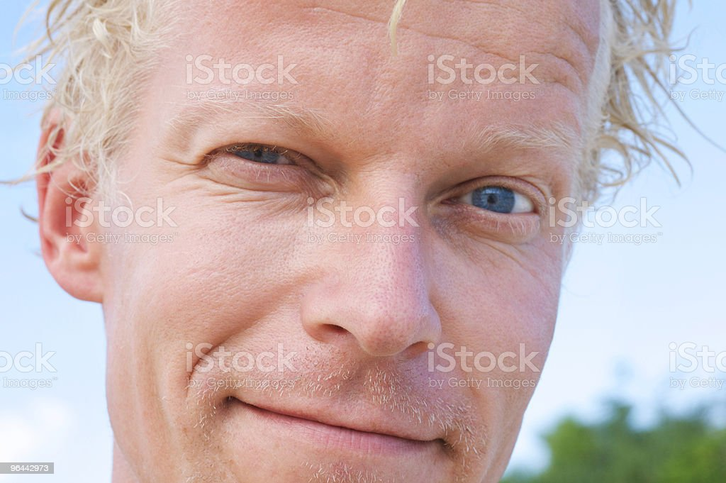 Face - Royalty-free 35-39 Years Stock Photo